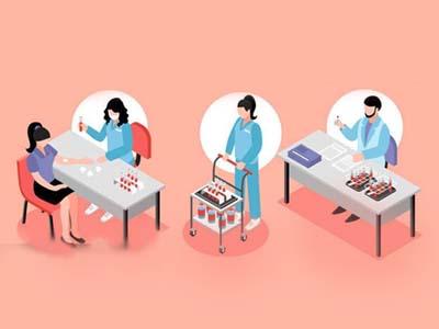 康复技术专业-康复技术插画