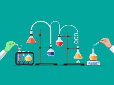 药剂专业-药剂插画